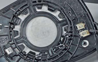 Разборка наружного зеркала заднего вида Хендай Солярис