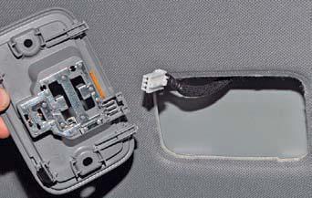 Замена ламп освещения салона, снятие переднего и центрального плафонов Хендай Солярис
