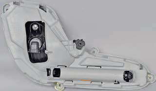 Замена лампы противотуманной фары, снятие противотуманной фары Хендай Солярис