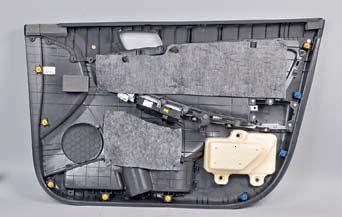 Снятие обивки передней двери Hyundai Solaris