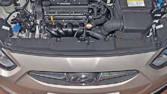 Снятие переднего бампера Hyundai Solaris