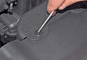 Снятие замка капота и его привода Hyundai Solaris