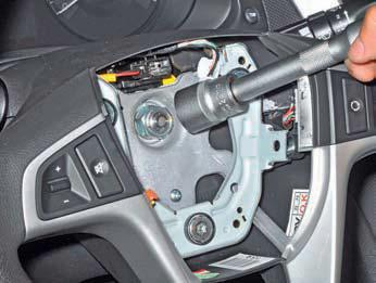 Снятие рулевого колеса Хендай Солярис