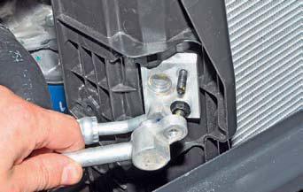 Снятие конденсатора кондиционера Hyundai Solaris