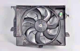 Снятие крыльчатки и электродвигателя вентилятора Хендай Солярис