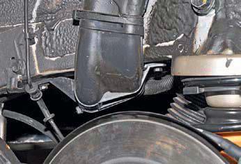 Снятие топливного бака и наливной трубы Хендай Солярис