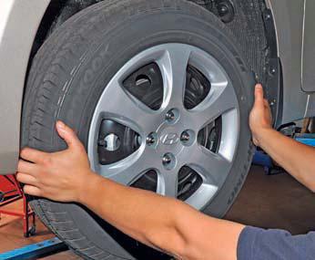 Проверка состояния рулевого управления Хендай Солярис